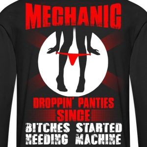 Mechanic lesbian mechanic funny mechanic quantum - Men's Premium Long Sleeve T-Shirt