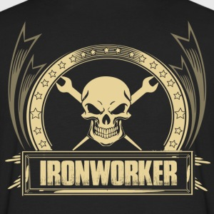 Ironworker union ironworker ironworker skull ir - Men's Premium Long Sleeve T-Shirt