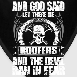 Roofer roofer roofers coffee shop roofers - Bandana