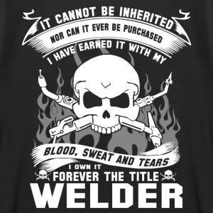 Welder funny welder sayings funny welder gift we - Men's Premium Tank