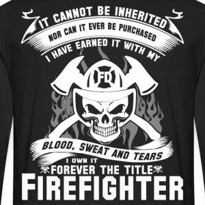 Firefighter firefighter humor best firefighter f - Men's Premium Long Sleeve T-Shirt