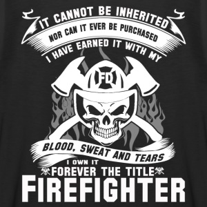 Firefighter firefighter humor best firefighter f - Men's Premium Tank