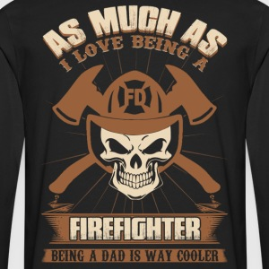 Firefighter hfd firefighter paramedic emt rescue - Men's Premium Long Sleeve T-Shirt