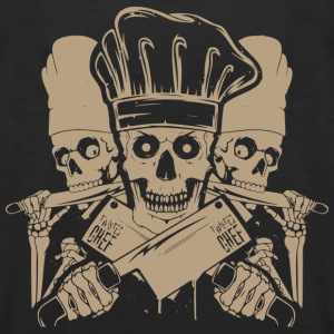 Chef master chef chef skull and cleavers chef (m - Men's Premium Tank