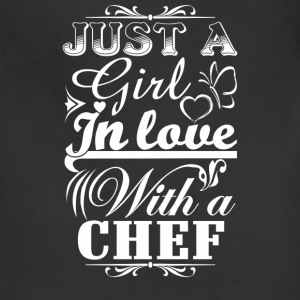 Chef chef funny dinner chef chef (male) funny te - Adjustable Apron