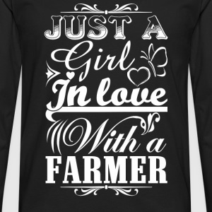 Farmer piglet farmer stupid farmer farmers union - Men's Premium Long Sleeve T-Shirt