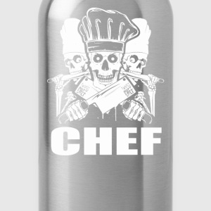 Chef pampered chef cook pastry chef design Chef - Water Bottle