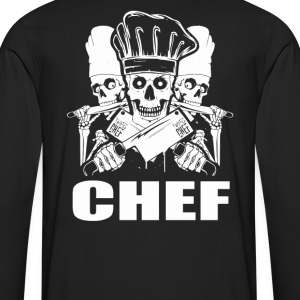Chef pampered chef cook pastry chef design Chef - Men's Premium Long Sleeve T-Shirt