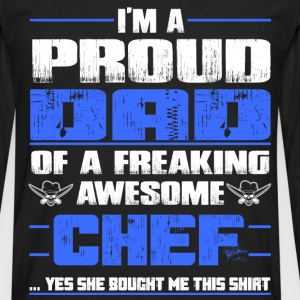 Chef pampered chef pastry chef design chef grill - Men's Premium Long Sleeve T-Shirt
