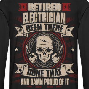 Electrician funny electrician electrical electri - Men's Premium Long Sleeve T-Shirt