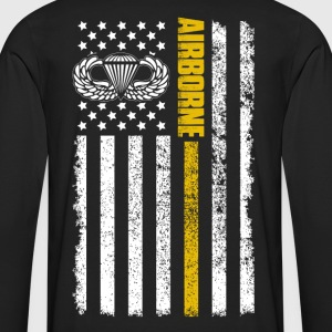 airborne 82nd airborne paratrooper airborne army - Men's Premium Long Sleeve T-Shirt