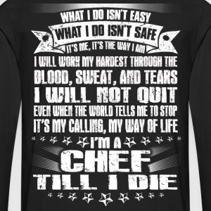 Chef pastry-chef pampered chef pastry chef Chef - Men's Premium Long Sleeve T-Shirt