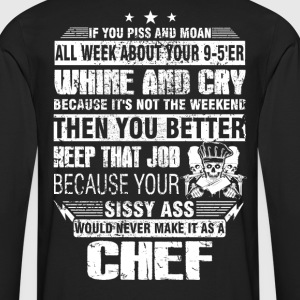 Chef pastry chef design cool chef curry Chef's H - Men's Premium Long Sleeve T-Shirt