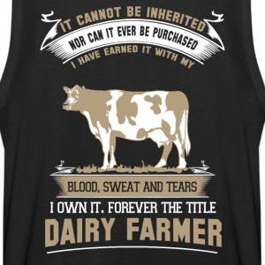 farmer farmer's wife farmers union piglet farme - Men's Premium Tank