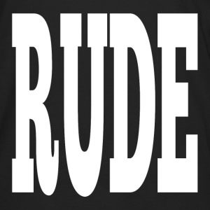 RUDE Hoodies - Men's Premium Long Sleeve T-Shirt