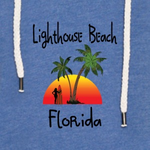 lighthouse beach florida Baby Bodysuits - Unisex Lightweight Terry Hoodie