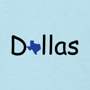 Dallas Texas Baby Bodysuits - Men's T-Shirt