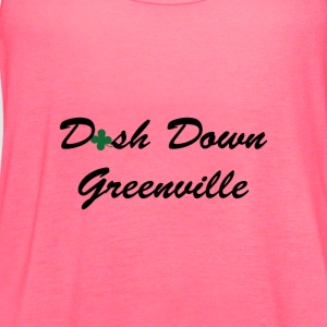dash down greenville Women's T-Shirts - Women's Flowy Tank Top by Bella