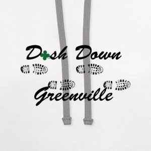 dash down greenville 5k T-Shirts - Contrast Hoodie
