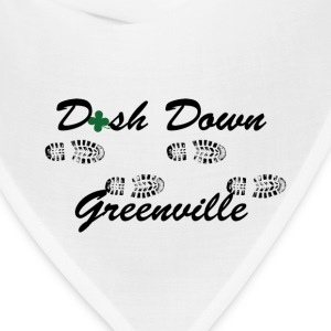 dash down greenville 5k T-Shirts - Bandana