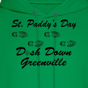 dash down greenville 5k T-Shirts - Men's Hoodie