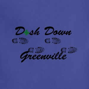 dash down greenville 5k T-Shirts - Adjustable Apron