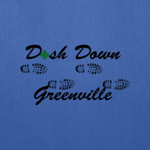 dash down greenville 5k T-Shirts - Tote Bag