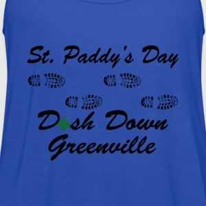 dash down greenville 5k T-Shirts - Women's Flowy Tank Top by Bella