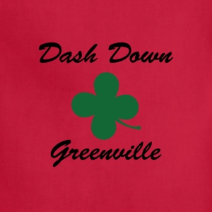 dash down greenville Women's T-Shirts - Adjustable Apron