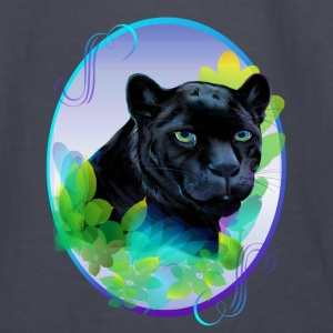 BLACK PANTHER and BLENDING JUNGLE - Kids' Long Sleeve T-Shirt
