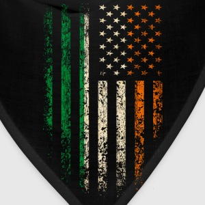 Irish Americans Flag T-Shirts - Bandana