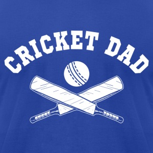 Cricket Dad Hoodies - Men's T-Shirt by American Apparel