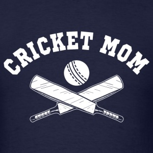 Cricket Mom Long Sleeve Shirts - Men's T-Shirt