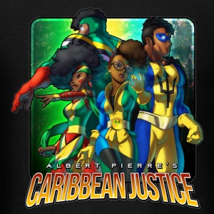 Caribbean Justice Legends Tanks - Men's T-Shirt