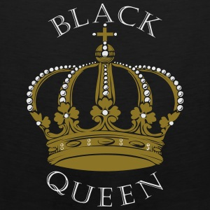 Black Queen Crown Bags & backpacks - Men's Premium Tank