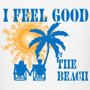 Feel good at the beach Baby Bodysuits - Men's T-Shirt