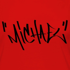 Michael Graffiti Name - Women's Premium Long Sleeve T-Shirt