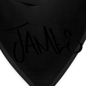 James Graffiti Name - Bandana