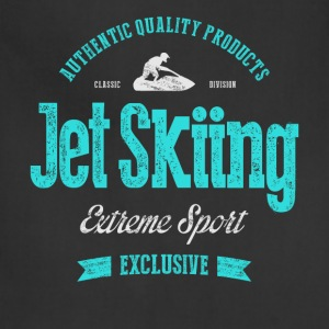 Jet Skiing Extreme Sport T-shirt Women's T-Shirts - Adjustable Apron