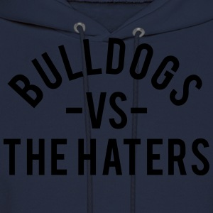 Bulldogs vs. The Haters T-Shirts - Men's Hoodie