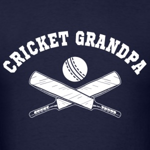 Cricket Grandpa Long Sleeve Shirts - Men's T-Shirt