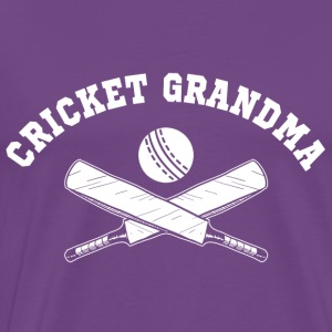 Cricket Grandma Hoodies - Men's Premium T-Shirt