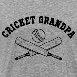 Cricket Grandpa Hoodies - Men's Premium T-Shirt