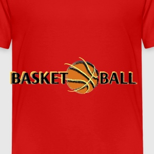 basketballball Kids' Shirts - Toddler Premium T-Shirt