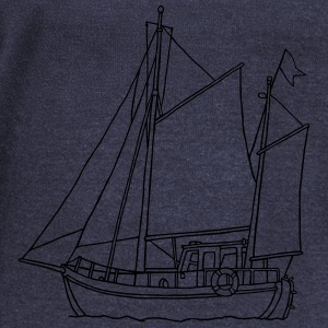 sailing boat - Women's Wideneck Sweatshirt