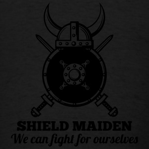 SHIELD MAIDEN - We can fight for ourselves Tanks - Men's T-Shirt