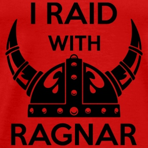 Viking - I raid with ragnar Tanks - Men's Premium T-Shirt