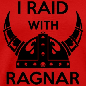 Viking - I raid with ragnar Tank Tops - Men's Premium T-Shirt