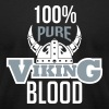 100% pure viking blood T-Shirts - Men's T-Shirt by American Apparel