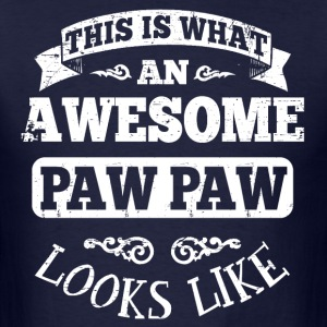 Awesome Paw Paw Hoodies - Men's T-Shirt